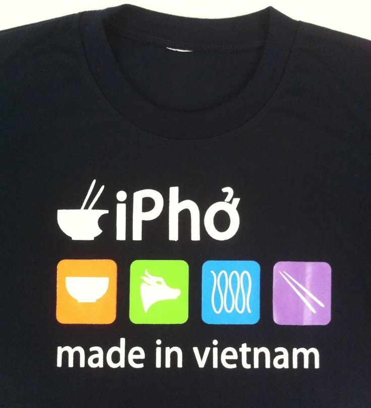 iPho tee shirt can be found on Dinh Liet St. More there. Photo courtesy to iamgist at flickr